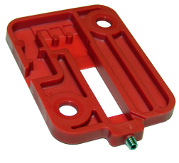 Switch housing with thin-wall sections that require careful packing