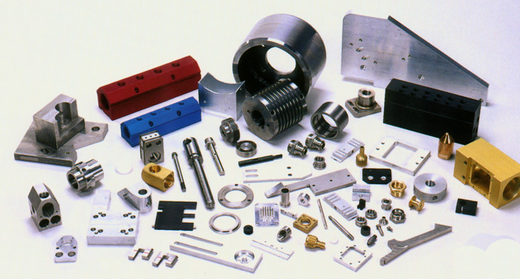 CNC Machined Parts from Burger & Brown Engineering